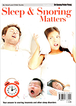 Dr Pang latest 4th Edition of the Snoring and Sleep Matters book - 2017